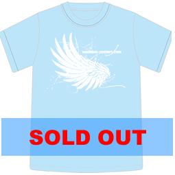 Tシャツ2010「WING」ライトブルー