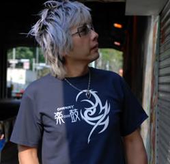 Tシャツ2008「トライバル」ネイビー