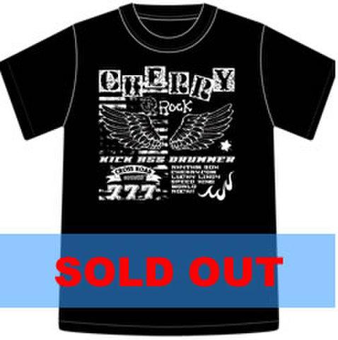 Tシャツ2010「CHERRY ROCK」ブラック