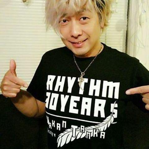 Tシャツ2015 「RHYTHM 30 YEARS」ブラック