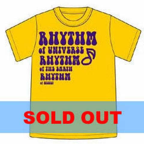 Tシャツ2003「RHYTHM OF HEART」イエロー
