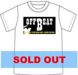 Tシャツ2005「OFF BEAT」ホワイト