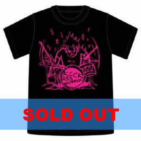 Tシャツ2003「KICK ASS DRUMMER」ブラック