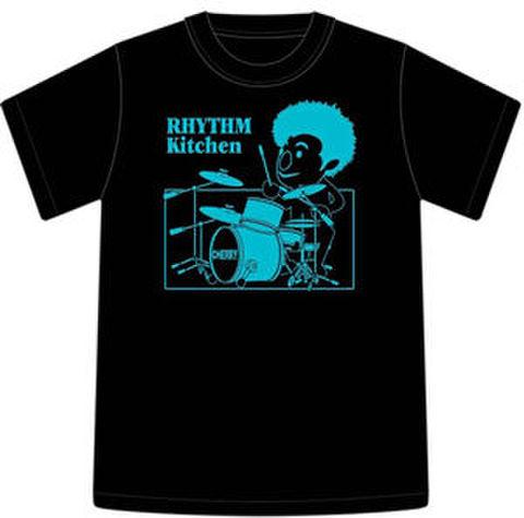 Tシャツ2004「RHYTHM Kitchen」ブラック