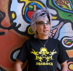 Tシャツ2008「DRUMMER」イエロー柄