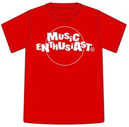 Tシャツ2005「MUSIC ENTHUSIAST」レッド