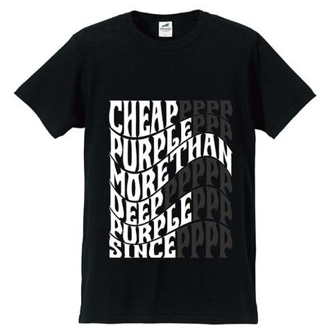 CHEAP PURPLE Tシャツ 2018/BK