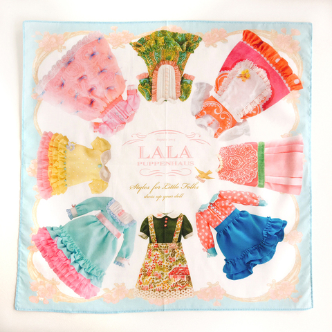 dress handkerchief -BLUE