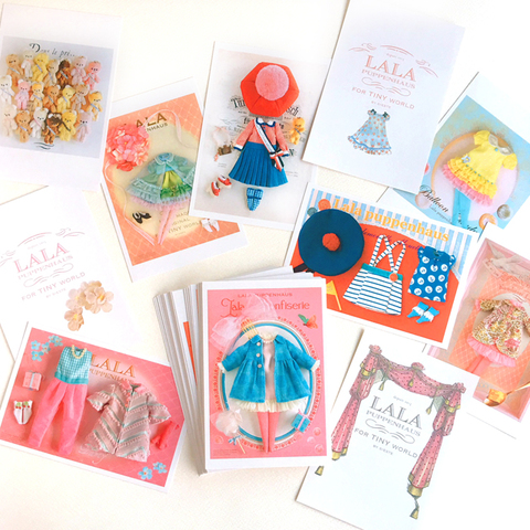 LALA postcard -45 cards-
