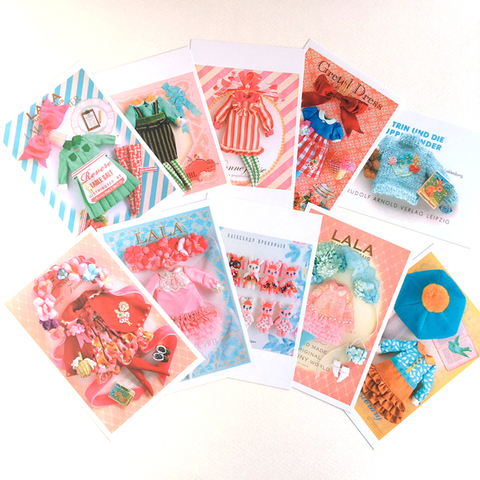 LALA postcard -10 cards-