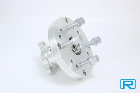 CNCワイドホイール用フロントハブKIT M12ラグボルト仕様