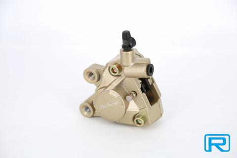 2POT ブレーキキャリパー ゴールド
