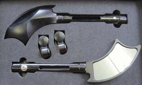 アルミ製ミラーVer1 ブラック
