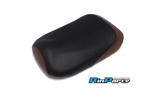 ズーマー用シートカバー ブラック/ブラウン
