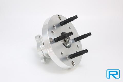 CNC ワイドホイール用フロントハブKIT M12スタットボルト仕様