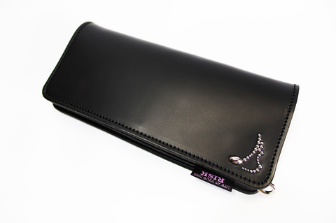LEATHER LONG WALLET【RISK×MODERN PIRATES】