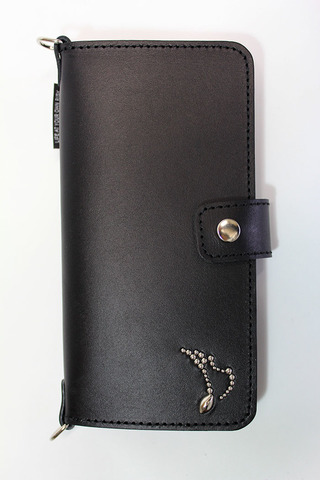 LAGE SMART PHONE CASE [WALLET TYPE]/♪STUDS【RISK×MODERN PIRATES】