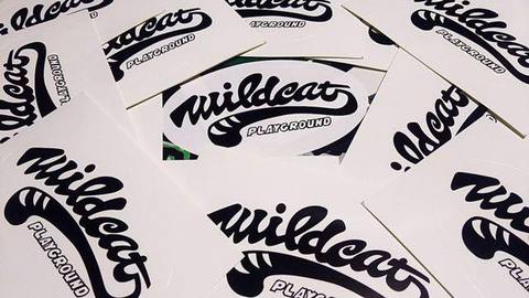 CAT-TAIL STICKER【WILDCAT】
