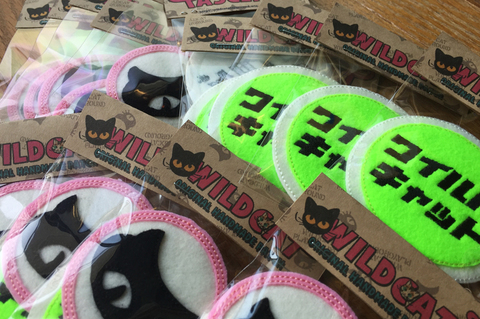 ORIGINAL HANDMADE PATCH SET【WILDCAT】