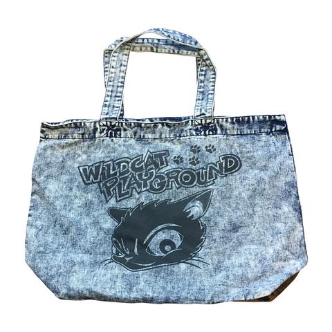 DENIM TOTE BAG(CAT-LOGO)【WILDCAT】