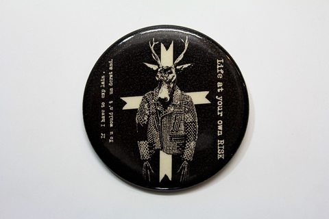 CAN-BADGE[T-DEER](57mm)