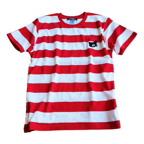 CAT-PATCH STRIPES S/S Tee【WILDCAT】