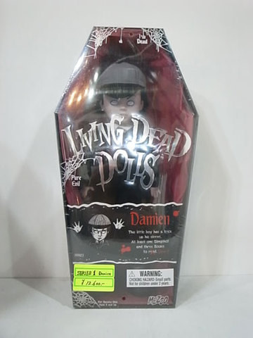 LIVING DEAD DOLLS【Damien】