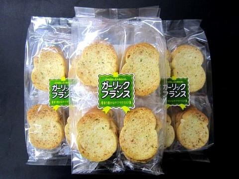 植竹製菓/ガーリックフランス(1袋24枚入)
