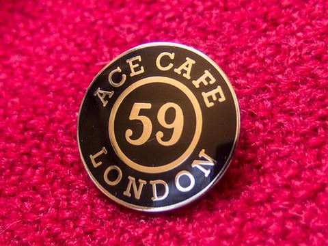 ACE CAFE LONDON & 59 CLUB バッジ sold