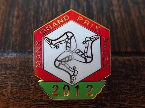 マンクス グランプリ 2012年 バッジ