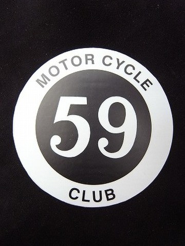 59club sticker Motorcycle Club sold