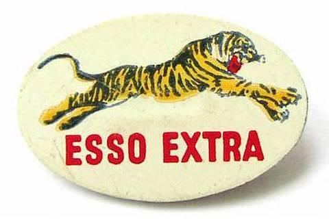 ESSO EXTRA TIGER 60'S オーバル タイガーバッジ