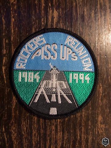 ROCKERS REUNION 84−94クロスバッジ