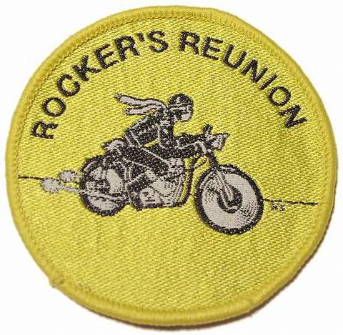 ROCKERS REUNION Yellow クロスバッジ