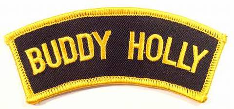 BUDDY HOLLY SHOULDER FLASH