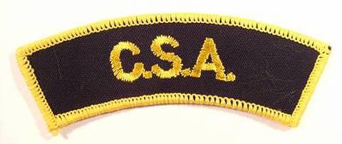 C.S.A SHOULDER FLASH