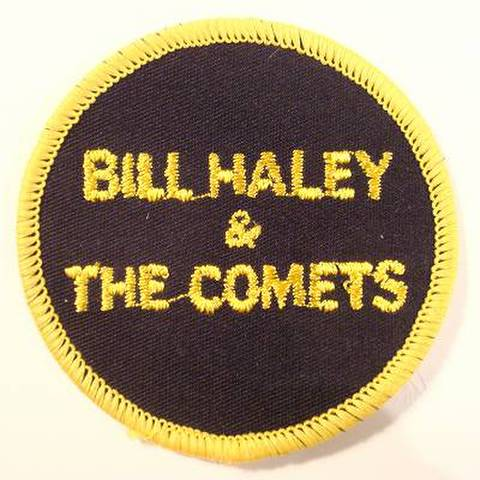 BILL HALEY & COMET ROUND PATCH