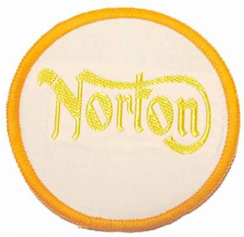 NORTON ヴィンテージ クロスバッジ オレンジ