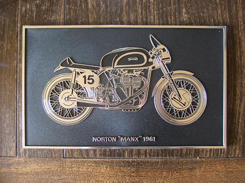 Norton Manx プラスチック製ディスプレイ