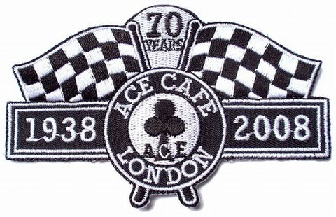 ACE CAFE LONDON 70th Anniversary Patch