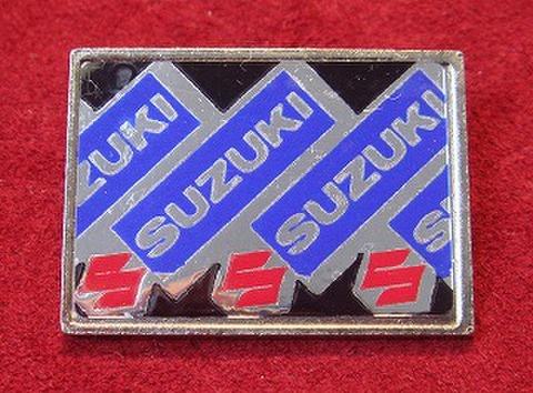Suzuki ヴィンテージ スクエアバッジ