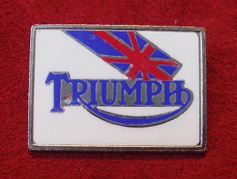 TRIUMPH  70's スクエア バッジ