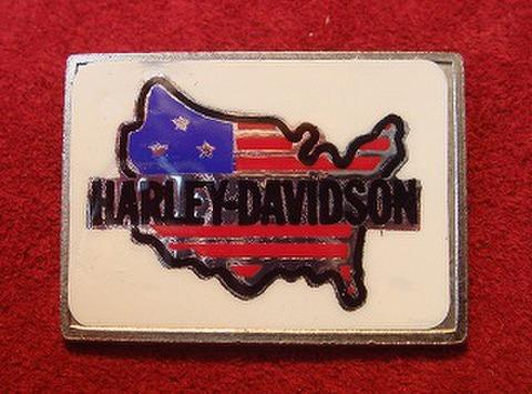 HARLEY DAVIDSON VINTAGE BADGE