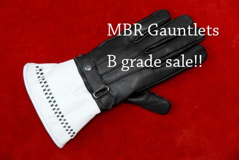 MBRガントレット Bグレード Black&White