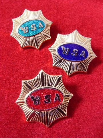 BSA GOLD STAR AVIAKIT REPRO BADGE