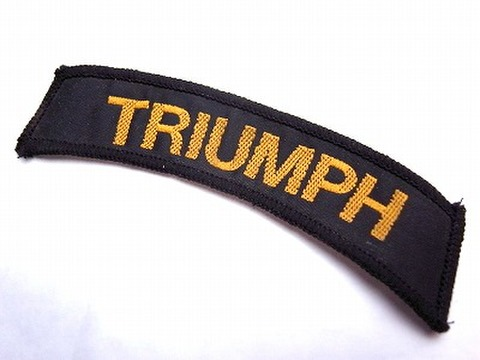 TRIUMPH VINTAGE SHOULDER FLASH