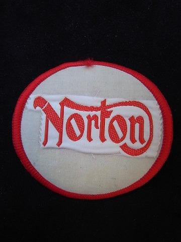 NORTON ヴィンテージ クロスバッジ