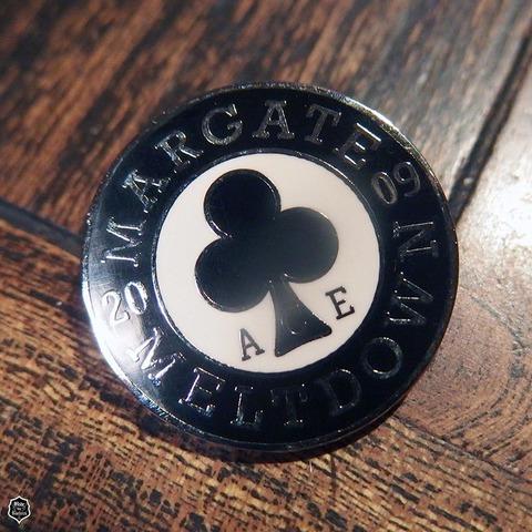 Ace Cafe Margate Meltdown 2009 Badge