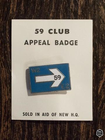 59クラブ ワンウェイ アピールバッジ