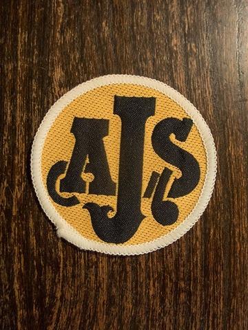 AJS ヴィンテージ クロスバッジ
